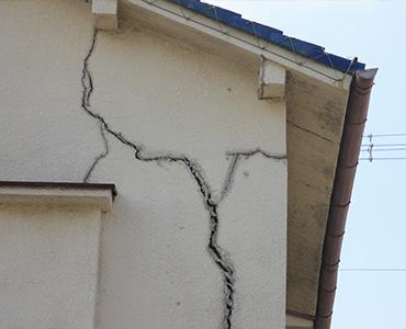 Les fissures des superstructures